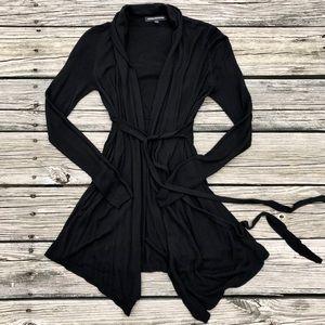 Express Belted Black Cardigan XXS